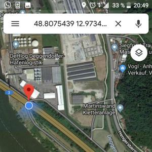 DEGGENDORF unter der Autobahnbrücke A3