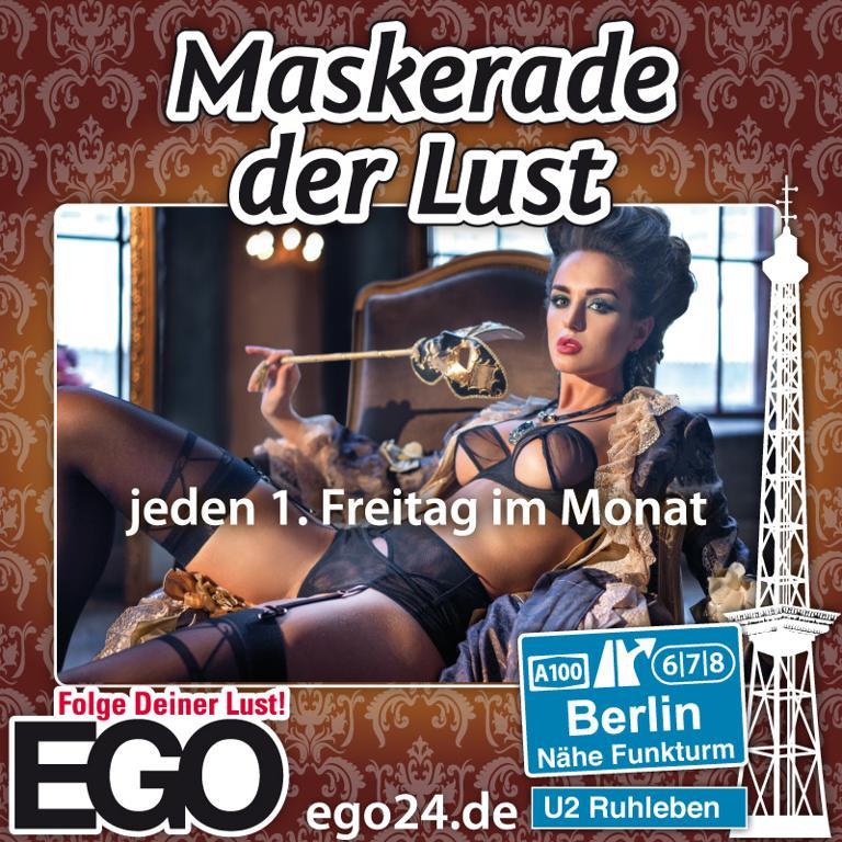 Maskerade der Lust / EGO Berlin